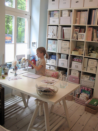 5 Organized Craft Rooms That Will Inspire You To Get Organized!
