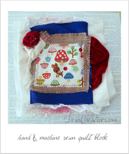 Weekend Wisked By & A Scrap Quilt Block