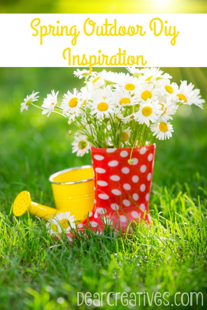 DIY-Easy DIY Improvement Projects DIY Spring Outdoor DIY Inspiration
