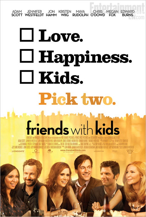 """""""Friends With Kids"""" Watch The Trailer -The Perfect Date Night Movie"""