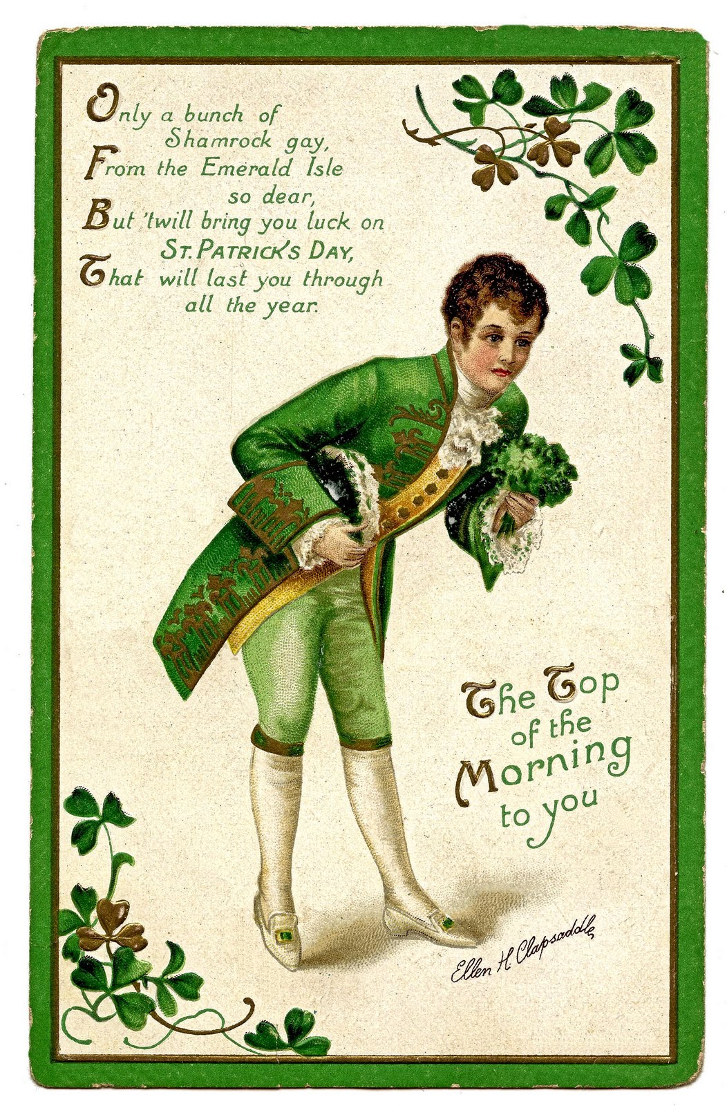 St. Patrick's Day Free Printable Card