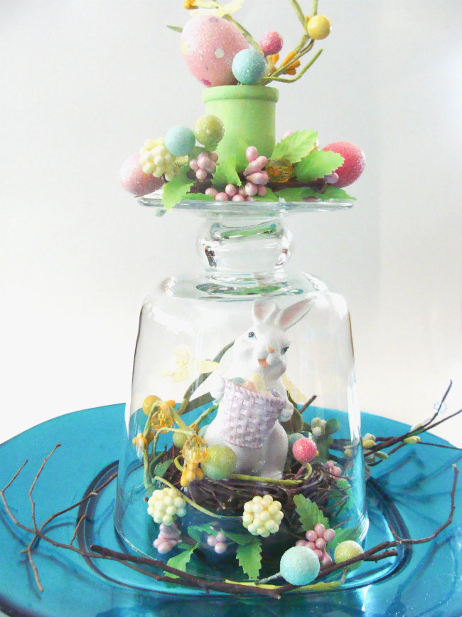 Budget-Friendly Easter Table Top Centerpiece