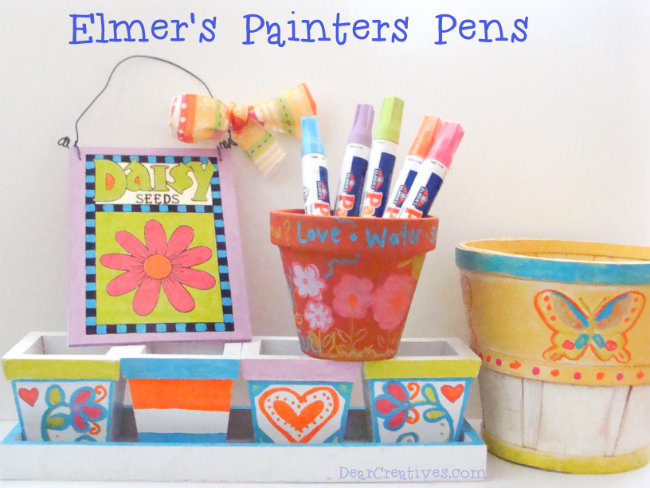 #ExpressYourself Elmer's Painters Opaque Paint Markers & Projects