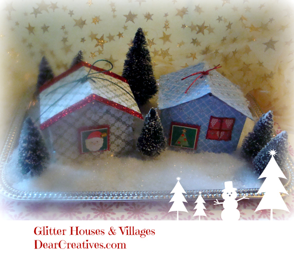 Glitter House Tutorial