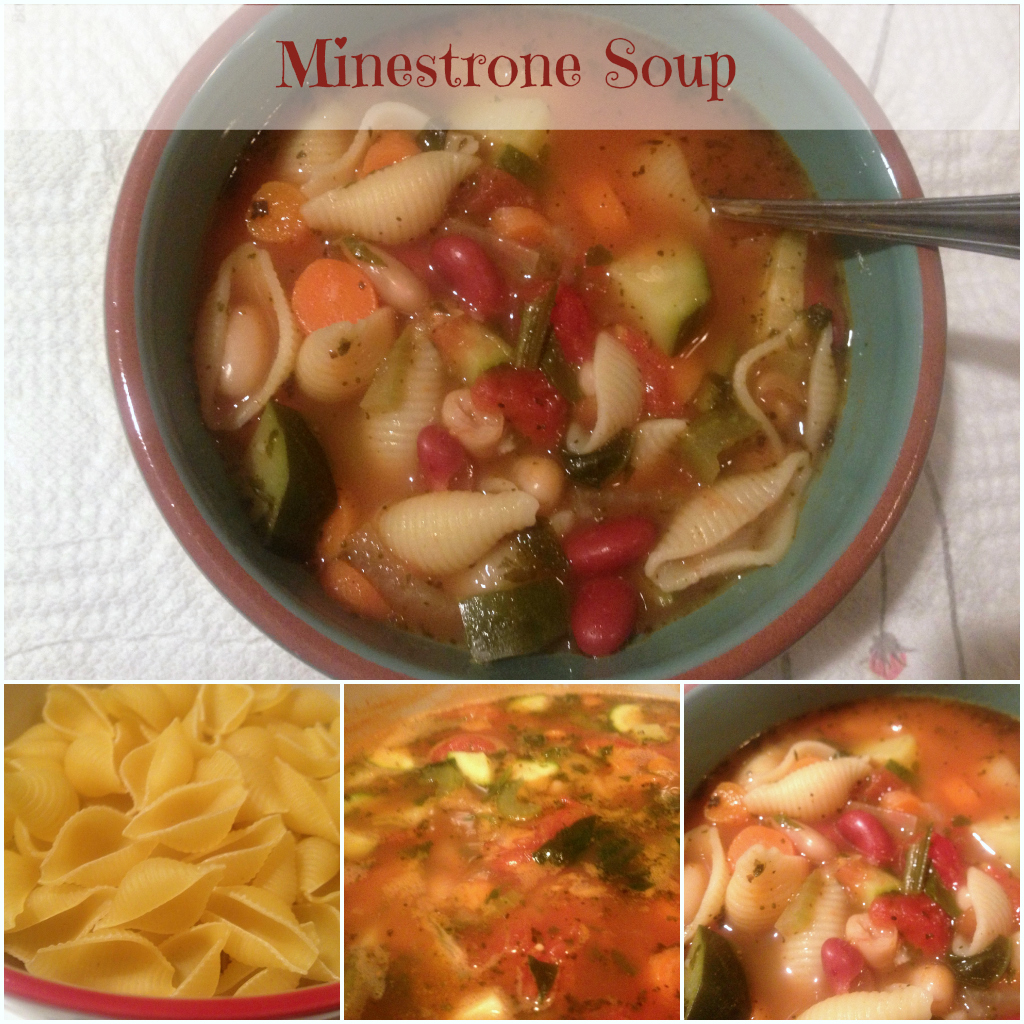 Minestrone Soup #Recipe Delicious & Full of Memories