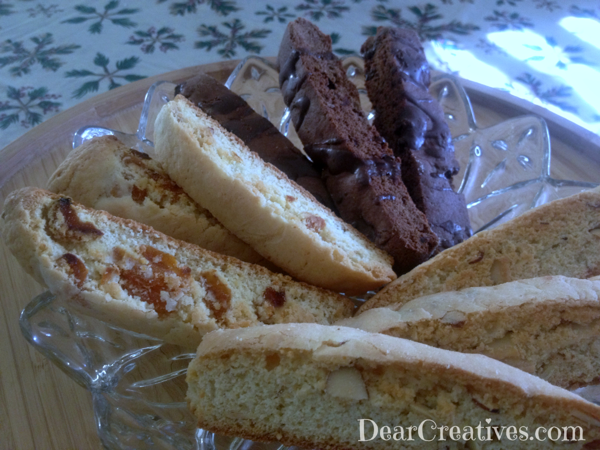 Plate of Biscotti Cookies Theresa Huse 2012