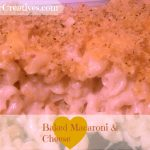Baked Macaroni and Cheese image, Macaroni and Cheese Casserole, dearcreatives.com recipes, Recipe
