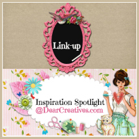 Inspiration Spotlight Party #LinkUp 129 Crafts DIY Decor Recipes & More
