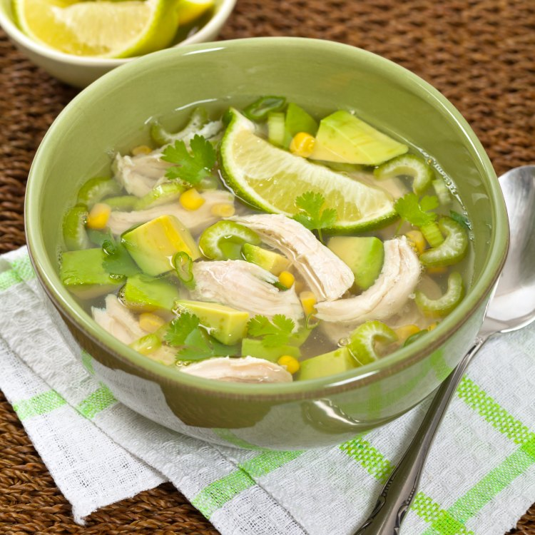 chicken tortilla lime soup this is an easy to prepare one pot soup recipe