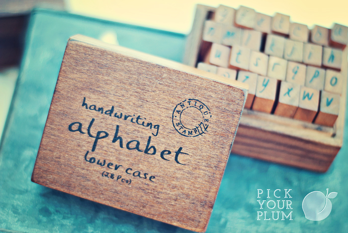 Alphabet Stamps #Dealoftheday Perfect for Valentines
