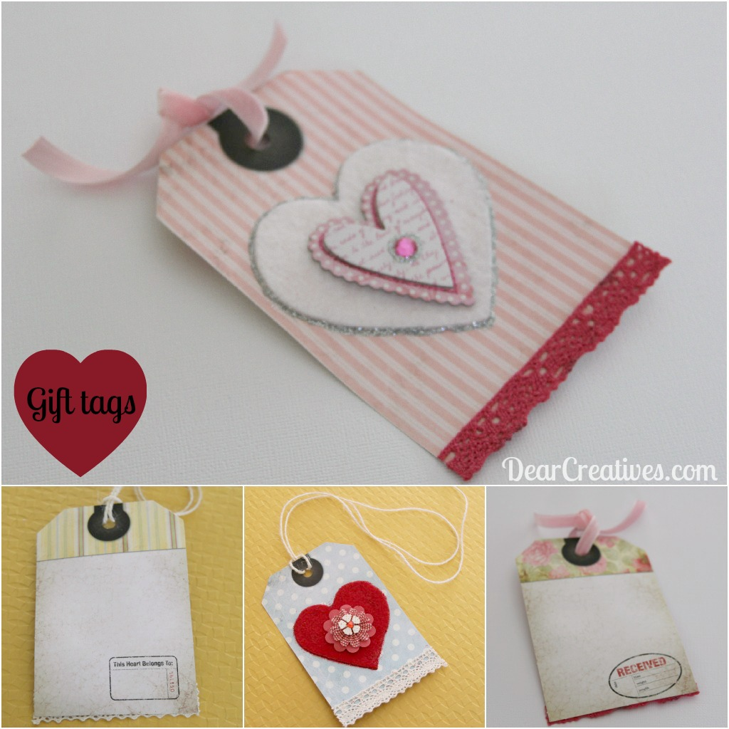 hand crafted gift tags