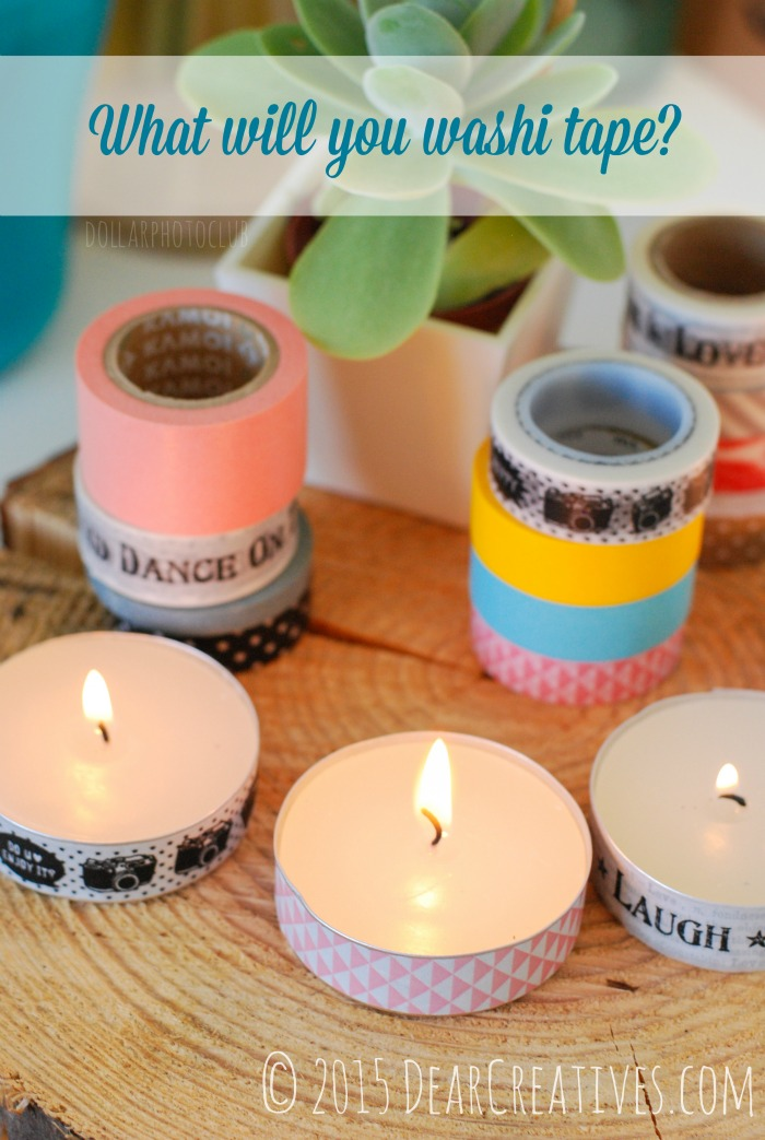 Crafting With Washi Tape