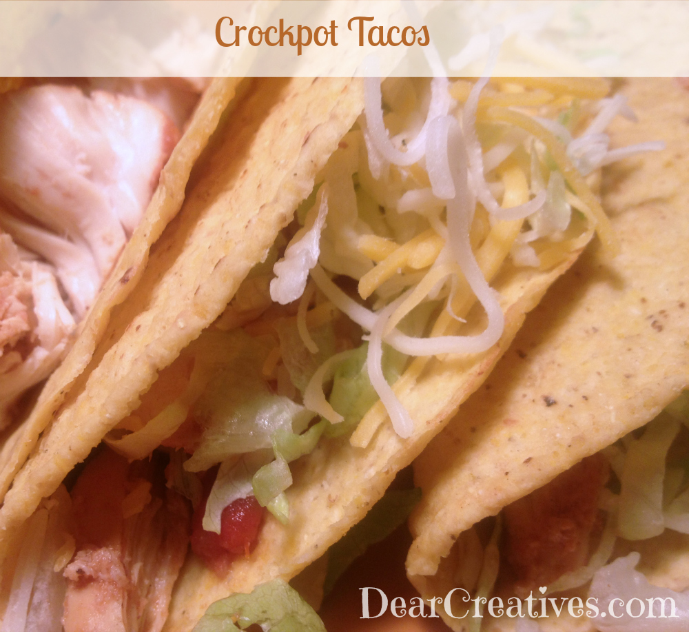 "CrockPot Chicken Tacos #Recipe ""A Crowd Pleaser"""