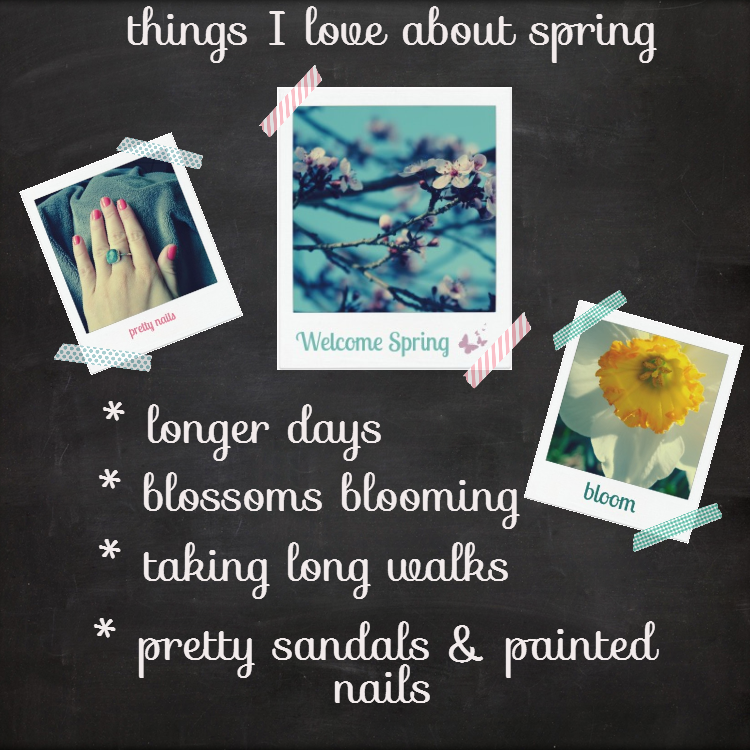 what I love about spring, spring