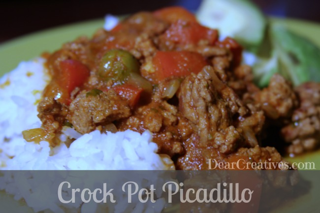 Crock Pot Recipe Picadillo