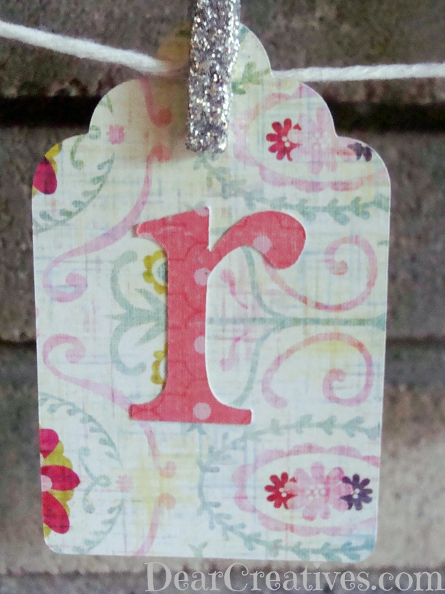 Paper-Crafting Spring Banners & Flowers