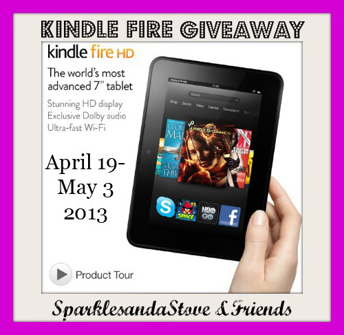 Kindle Fire #Giveaway !!