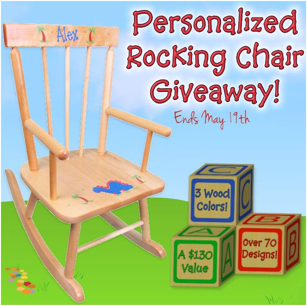 Baby Gift Baskets & Personalized Child Rocker + Giveaway