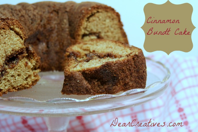 Cinnamon Bundt Cake Theresa Huse 2013 -1298