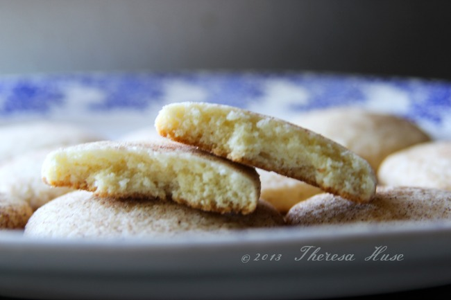 Snicker Doodle Cookie, inside of snicker-doodle cookie Theresa Huse 2013-