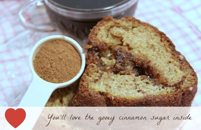cinnamon bundt cake with coffee, cinnamon in a scoop, Theresa Huse 2013 -1293
