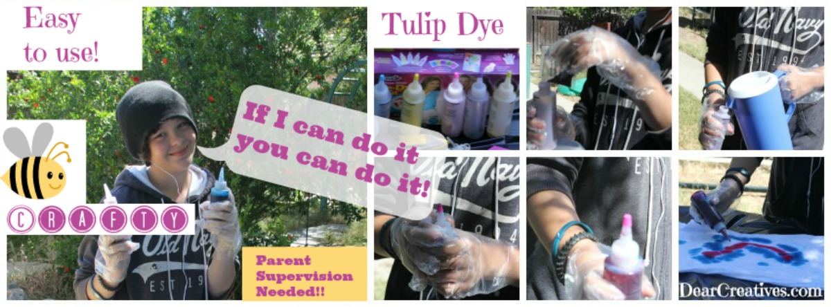 Tulip Dye Kit Easy to Mix and Use Tie Dye © 2013 Theresa Huse DearCreatives.com