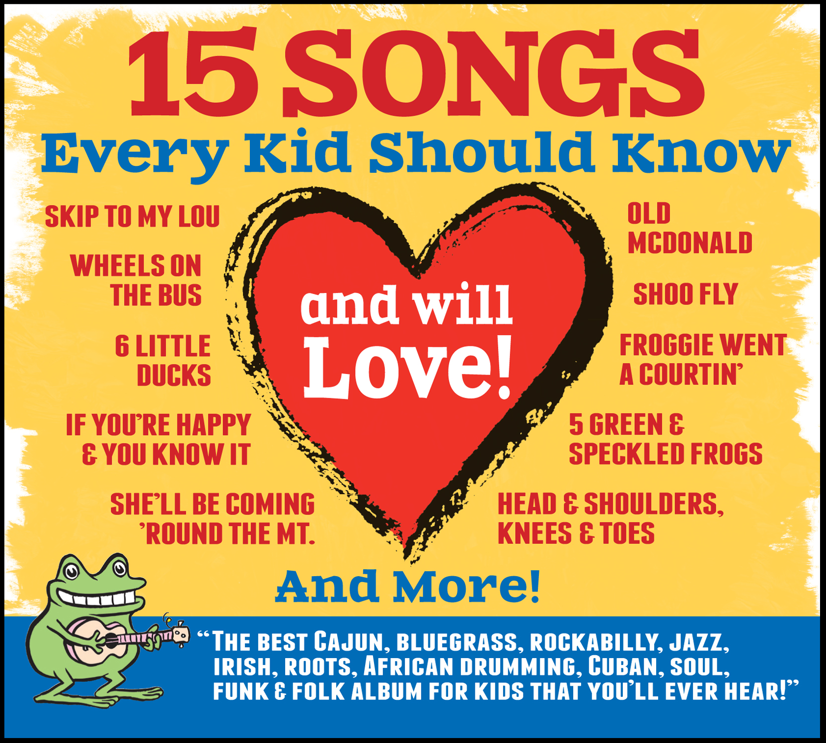 15 Songs Every Kid Should Know CD Release & Review