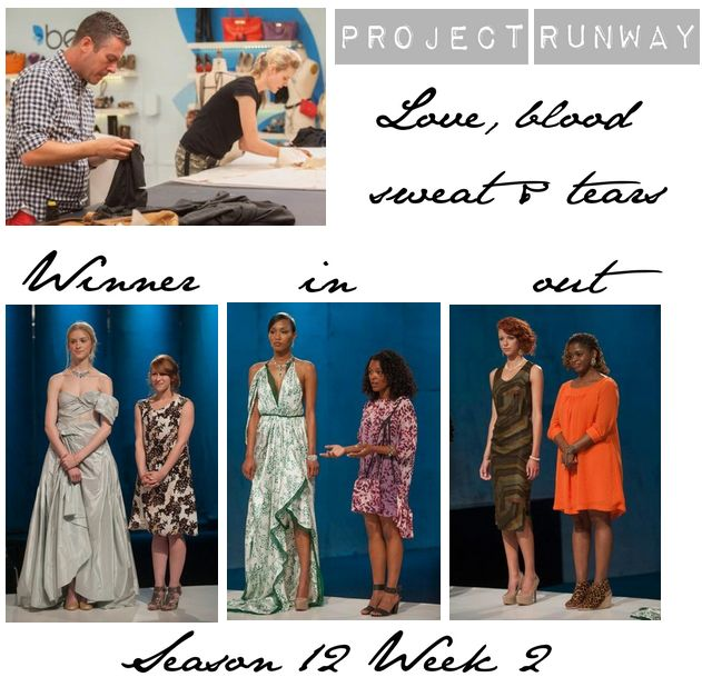 Get Ready For This Week's Project Runway! Last Week The Bejeweled Challenge