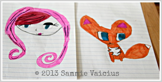 Sammie Vaicius Illustrated Drawings with Infinity Pens Theresa Huse 2013