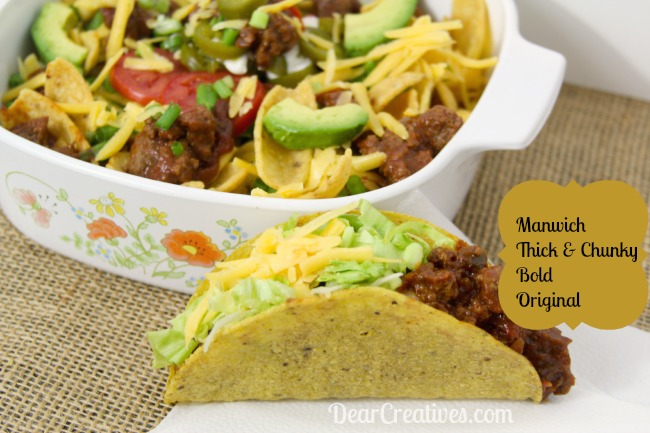 Manwich 3 Flavors, sloppy joe nachos and taco, DearCreatives.com,