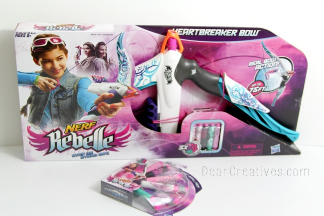 New #Toy in Town! Nerf Rebelle Heartbreaker Bow