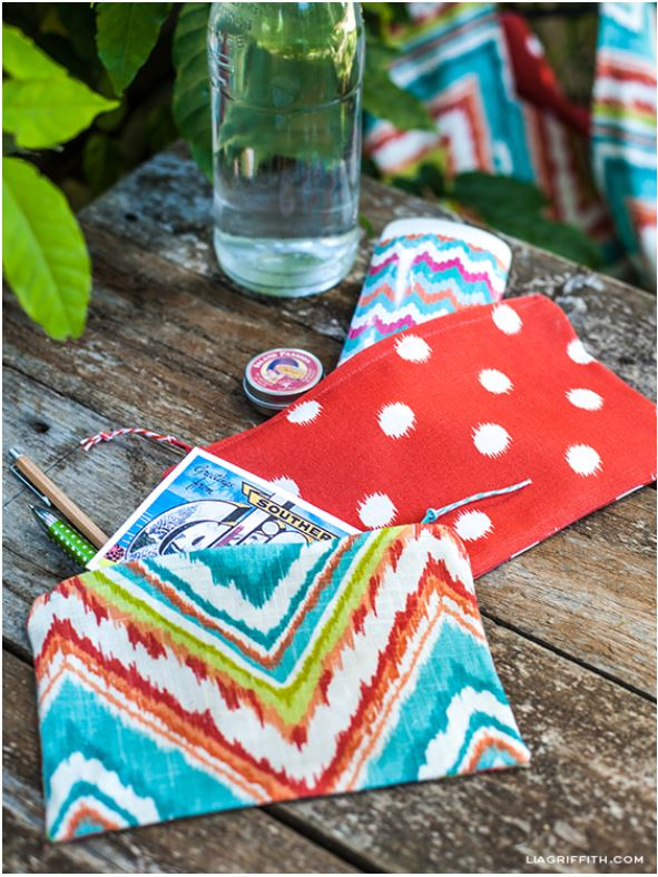 Sewing Projects Zipper Pouch Lia Griffith