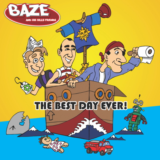 Newest Children's #Music & CD The Best Day Ever! From Baze and His Silly Friends