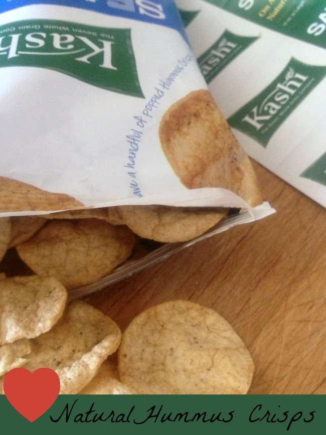 There's a New #Snack Favorite! Kashi Hummus Crisps