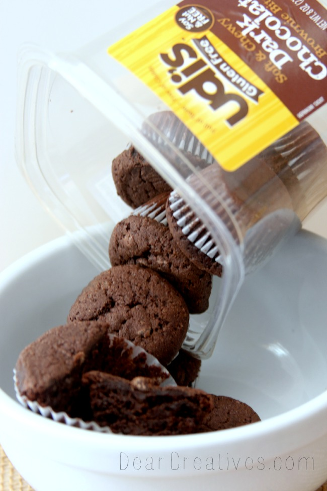 Udi's, Gluten Free, Brownies, Dark chocolate Brownies, DearCreatives.com, Theresa Huse 2013