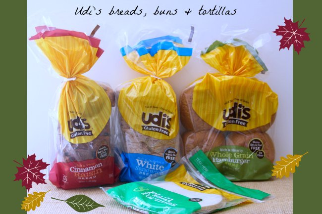 Udi's, Gluten Free, Gluten Free Breads, Buns and Tortillas, DearCreatives.com, Theresa Huse 2013