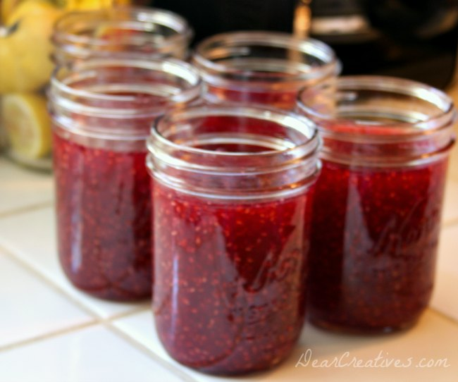 Deliciously Simple #Recipe for Freezing or Canning Raspberries