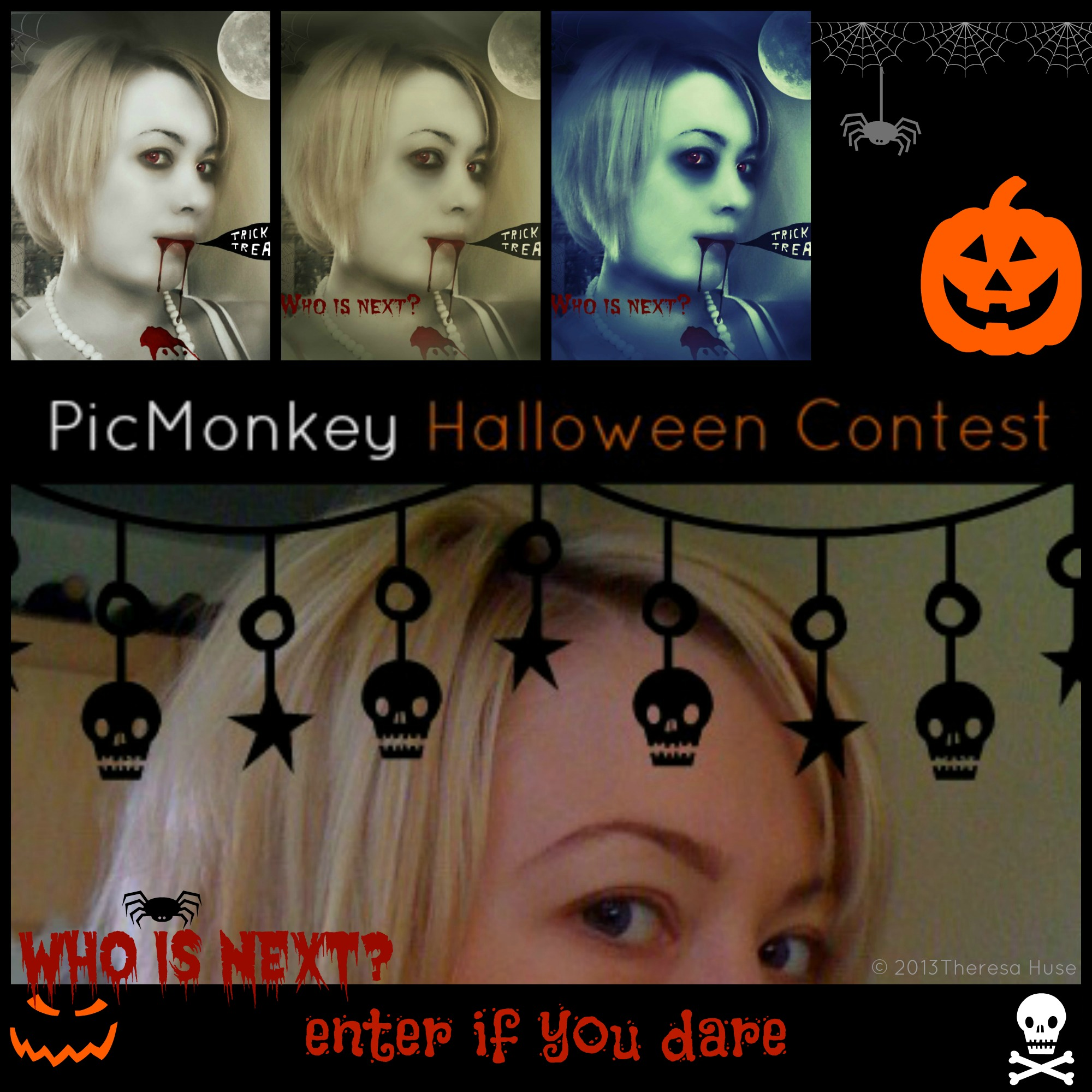 PicMonkey Halloween Contest #PicMonkeyBOO Enter if You Dare!