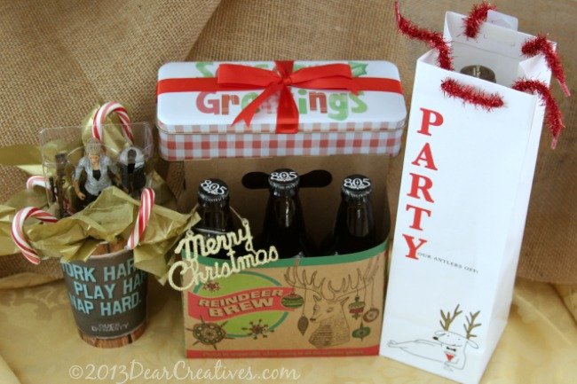 Holiday Gift Wrapping_ Reindeer Brew_Walgreens #Shop_Theresa Huse 2013