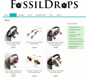Indie Made Shop Fossil Drops