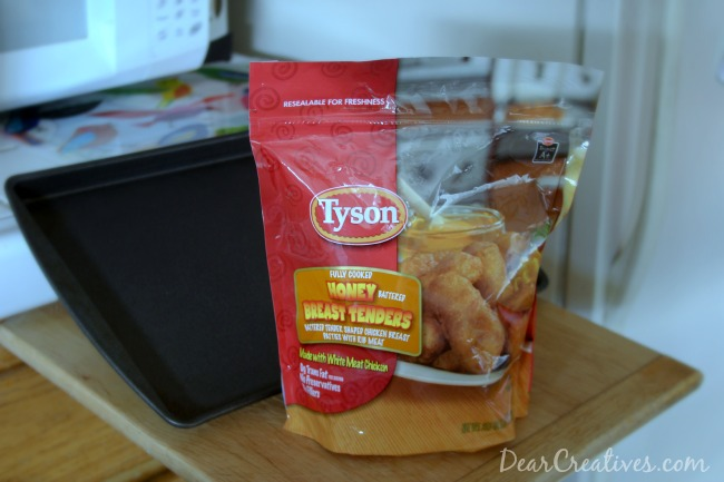 Baking Sheet and Tyson Tenders_ #shop_Theresa Huse 2013