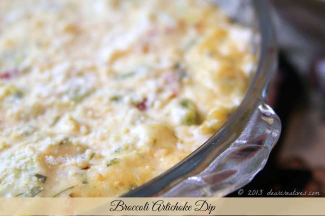 Artichoke Dip - easy appetizer recipe to make, serve hot with french bread, or crackers