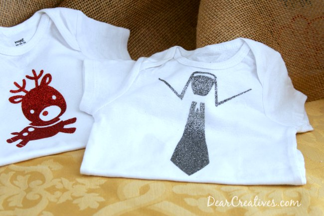 Onsies with iron on designs _ Circut Crafts _Theresa Huse 2013