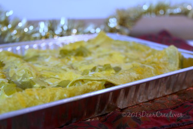 Quick & Easy Step by Step How To Make Cheesy Veggie Enchiladas + Printable Recipe