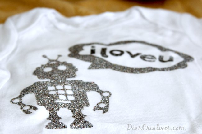 Robot Iron on design_ Cricut Crafts_Theresa Huse 2013