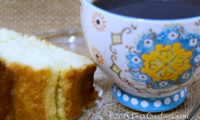 Perfectly Imperfect Deliciously Dreamy: Perfect Pound Cake #Recipe