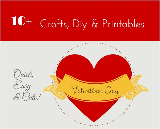 10+ Easy Valentine's Day Craft Ideas To DIY
