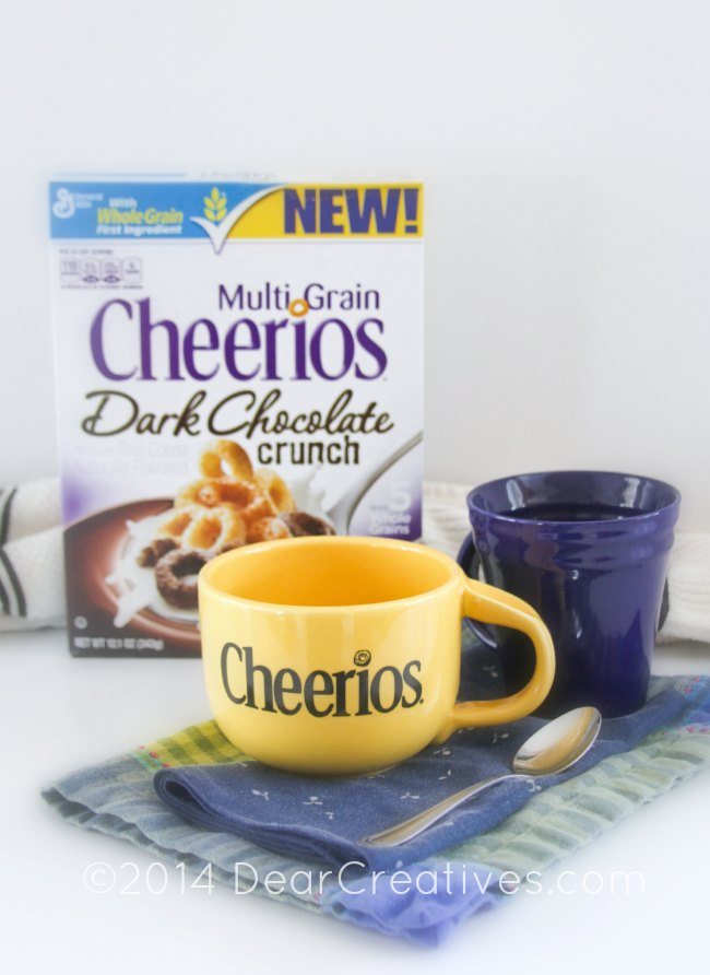 Cereal Lovers Its a New Multi Grain Dark Chocolate Crunch #Cheerios