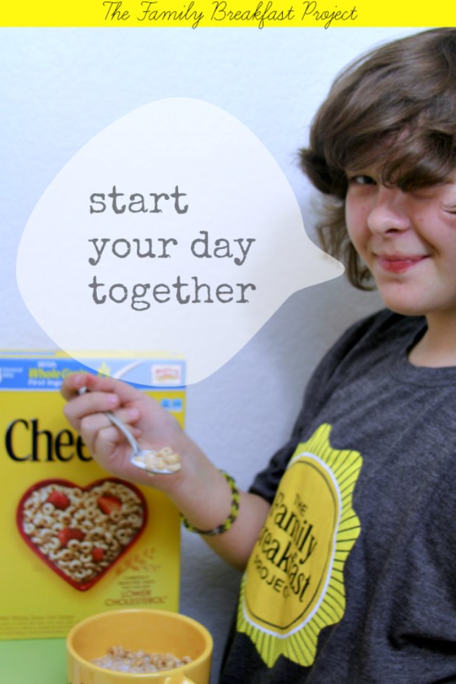 Family Breakfast Project _Cheerios_