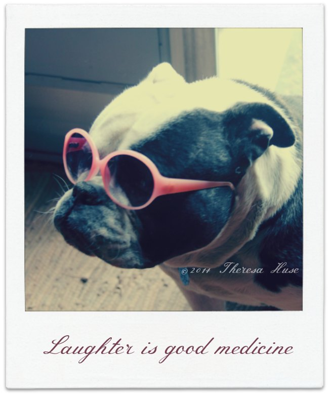 Laughter is good medicine_Theresa Huse 2014